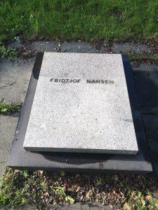 Fridtjof Nansen grave